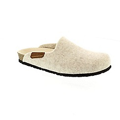 Mephisto - Cream 'Yin' slippers