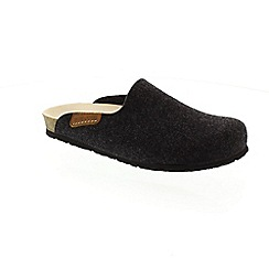 Mephisto - Dark grey 'Yin' slippers