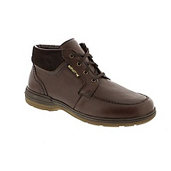 Mephisto - Brown 'Darwin' lace up boots
