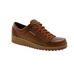 Mephisto - Brown Leather 'Rainbow' shoes
