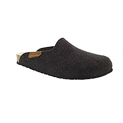 Mephisto - Dark grey 'Yang' slippers