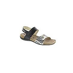 Mephisto - Navy Navy Steve 'Agave' strappy sandals