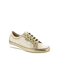 Mephisto - Multi Coloured Light Sand Savana 'Bretta' lace up shoes