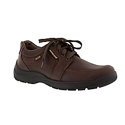 Mephisto - Dark brown 'Bristol' men's lace up shoes