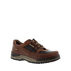 Mephisto - Brown chestnut 'Cliff' mens lace up shoe