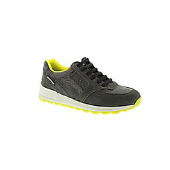Mephisto - Grey graphite bucksoft 'Cross' women's trainers