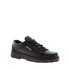 Mephisto - Black 'Cruiser' lace-up shoe