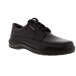 Mephisto - Black 'Ezard' lace-up shoe