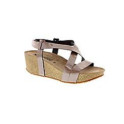 Mephisto - Taupe 'Farnia' wedge sandal