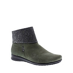 Mephisto - Dark green kaki 'Fiducia' women's boot