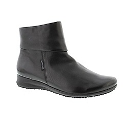 Mephisto - Black 'Silk Black Fiducia' ladies boot