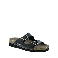 Mephisto - Black sananyl 'harmony' ladies sandals