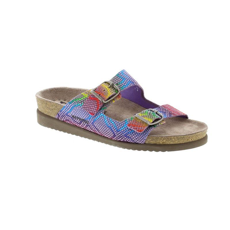 Mephisto Multi coloured parma nairobi multi harmony ladies sandal