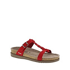Mephisto - Red sandalbuck 'Havana' ladies casual sandals