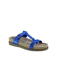 Mephisto - Blue sandalbuck 'Havana' ladies casual sandals