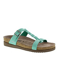 Mephisto - Green sandalbuck 'Havana' ladies casual sandals