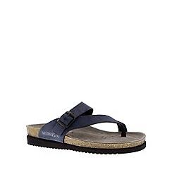 Mephisto - Navy 'Helen' toe thong sandal