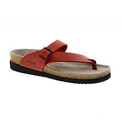 Mephisto - Red 'Helen' toe thong sandal