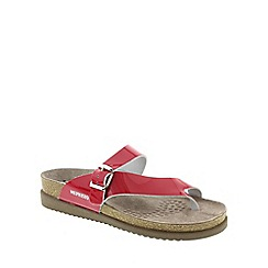 Mephisto - Red Cranberry Red 'Helen' strappy toe post sandals