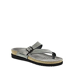 Mephisto - Grey Grey Etna 'Helen' strappy toe post sandals