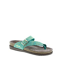 Mephisto - Green mint nairobi 'Helen' ladies two strap sandal