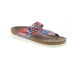Mephisto - Multi coloured monet helen ladies sandal