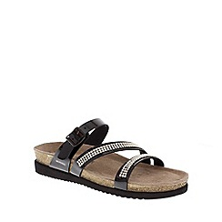 Mephisto - Black 'Hilary' sandal