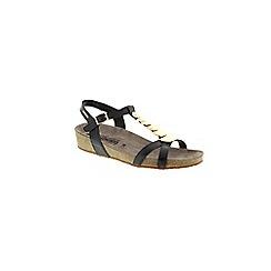 Mephisto - Black Black 'Irma' strappy jewelled sandals