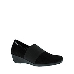 Mephisto - Black 'Kalima' wedge shoe