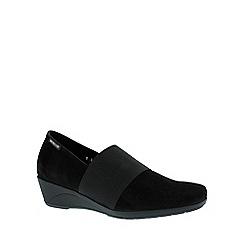 Mephisto - Black 'Kalima' wedge shoe