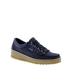 Mephisto - Navy 'Lady' lace-up shoe
