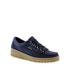 Mephisto - Navy 'Lady' lace-up shoe