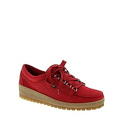 Mephisto - Red 'Lady' lace-up shoe