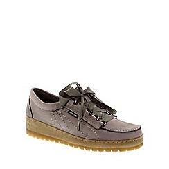 Mephisto - Dark grey 'Lady' lace-up shoe