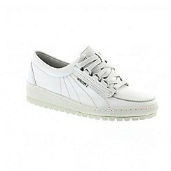 Mephisto - White sandycalf lady trainers