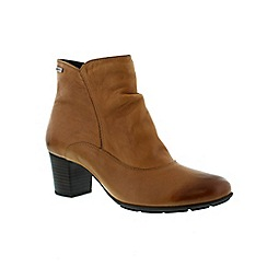 Mephisto - Light brown Light brown 'Laurence' ladies ankle boot
