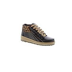 Mephisto - Black leopard black 'Laurie' elcho womens shoes