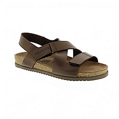 Mephisto - Dark brown scratch nadek sandals
