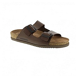Mephisto - Dark brown scratch nerio sandals