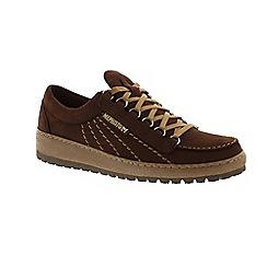 Mephisto - Dark brown 'Rainbow' lace-up shoe