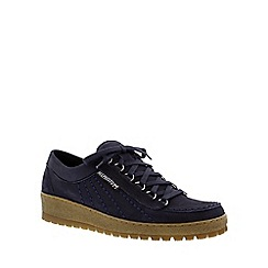 Mephisto - Navy 'Rainbow' lace-up shoe
