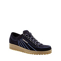 Mephisto - Dark blue Dark Blue 'Rainbow' Velours men's shoes