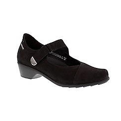 Mephisto - Black 'Reine' ladies mary jane shoe