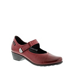 Mephisto - Dark red oxblood texas 'Reine' women's shoes