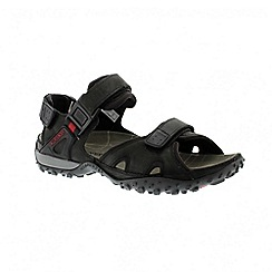 Mephisto - Black horse rock mens sandal