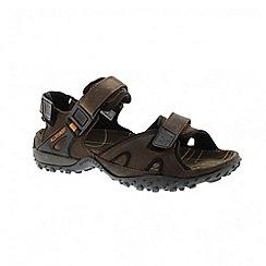 Mephisto - Dark brown horse rock mens sandal