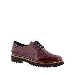 Mephisto - Wine vernicalf 'Sabatina ' womens shoes