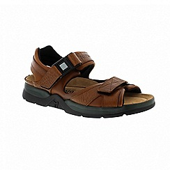 Mephisto - Shark fit - chestnut sandalcalf