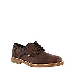 Mephisto - Dark brown 'Waino' men's smart lace up shoes