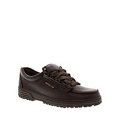 Mephisto - Dark brown 'Wanda' lace-up shoe